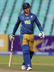 David Miller of the VKB Knights during the T20 Challenge cricket match between the Hollywoodbets Dolphins and VKB Knights  at the Kingsmead stadium in Durban, KwaZulu Natal, South Africa on the 11 Dec 2016<br /> <br /> Photo by:   Steve Haag / Real Time Images