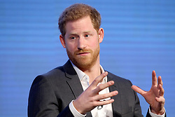 Prince Harry during the first Royal Foundation Forum in central London.