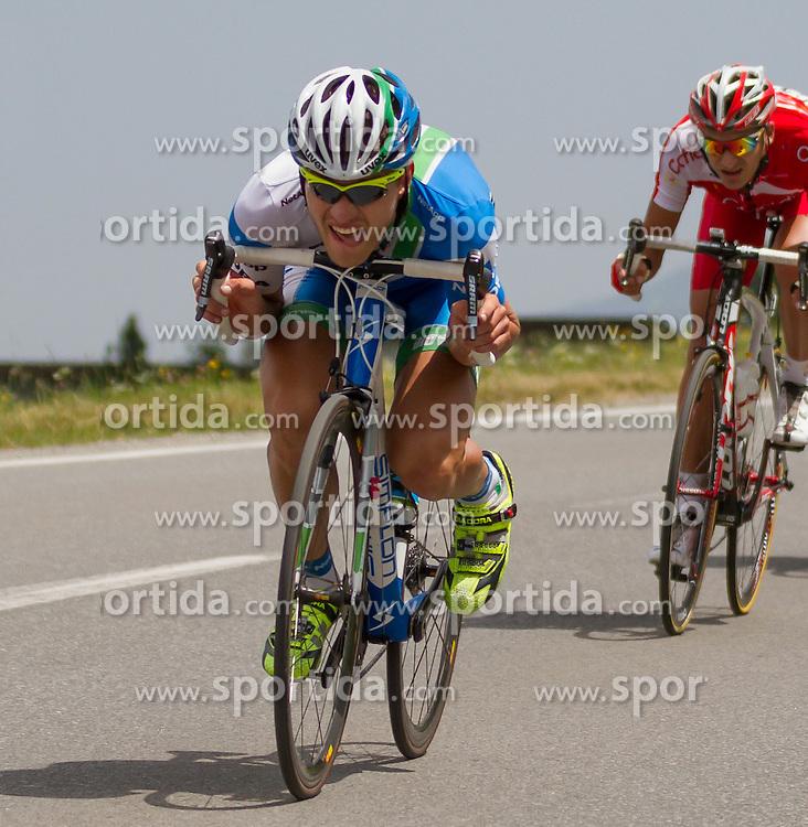 01.07.2012, Innsbruck, AUT, 64. Oesterreich Rundfahrt, 1. Etappe, EZF Innsbruck, im Bild Matthias Braendle during the 64rd Tour of Austria, Stage 1, Individual time trial in Innsbruck, Austria on 2012/07/01