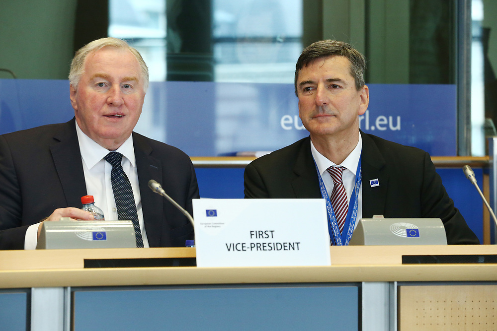 12 May 2017, 123rd Plenary Session of the European Committee of the Regions <br /> Belgium - Brussels - May 2017 <br /> <br /> Mr LAMBERTZKarl-Heinz, Member of the Parliament of the German-speaking Community, Belgium<br /> <br /> © European Union / Patrick Mascart