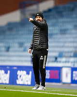Football - 2020 / 2021 Scottish FA Cup - Round 3 - Glasgow Rangers vs Cove Rangers - Ibrox Stadium<br /> <br /> Cove Rangers manager Paul Hartley<br /> <br /> Credit : COLORSPORT/BRUCE WHITE