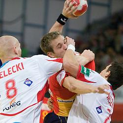 20100124: Handball -  Spain vs. Poland - Men's European Handball Championship 2010, Austria