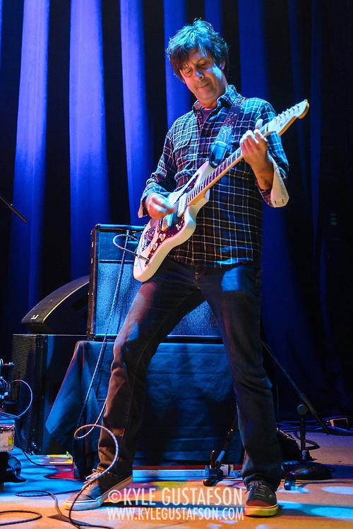 Sean Eden of Luna performs at the 9:30 Club on their reunion tour.