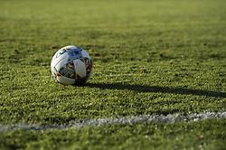 September 3, 2018 - Stockholm, SVERIGE - 180903 Den nya matchbollen som anvÅnds i UEFA Nations League pÅ' Stadions grÅsmatta under Sveriges trÅning den 3 september 2018 i Stockholm  (Credit Image: © Jesper Zerman/Bildbyran via ZUMA Press)