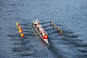 Chiswick. London. Saturday. 23.01.2016. Quintin Head. River Thames. Tideway Scullers School, Eight,   [Mandatory Credit: Peter Spurrier/Intersport-images.com]