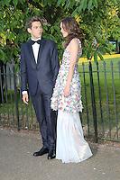 Keira Knightley; James Righton, The Serpentine Gallery - summer party, The Serpentine Gallery, London UK, 01 July 2014, Photo by Richard Goldschmidt
