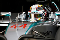HAMILTON lewis (gbr) mercedes gp mgp w06 action during Formula 1 winter tests 2015 at Barcelona, Spain from February 19th to 22nd. Photo DPPI / Florent Gooden.