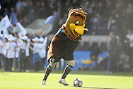 The West Brom mascot has a kick about before k/o. Premier league match, West Bromwich Albion v Tottenham Hotspur at the Hawthorns stadium in West Bromwich, Midlands on Saturday 15th October 2016. pic by Andrew Orchard, Andrew Orchard sports photography.