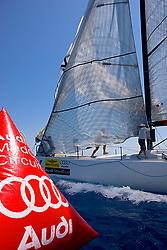 08_013805  © Sander van der Borch. Porto Portals, Mallorca,  July 25th 2008. AUDI MEDCUP in Porto Portals  (21/26 July 2008). Coastal race.