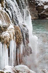 Frozen Fall Creek Falls, Swan Valley, Idaho