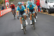 Luis Leon Sanchez (ESP - Astana Pro Team) during the 101th Tour of Italy, Giro d'Italia 2018, stage 6, Caltanissetta - Etna 163 km on May 10, 2018 in Italy - Photo Luca Bettini / BettiniPhoto / ProSportsImages / DPPI