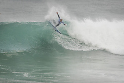 October 12, 2017 - Stuart Kennedy (AUS) Placed 1st in Heat 1 of Round One at Quiksilver Pro France 2017, Hossegor, France..Quiksilver Pro France 2017, Landes, France - 12 Oct 2017 (Credit Image: © WSL via ZUMA Press)