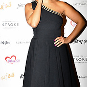 Pandora Christie attends gala dinner and concert to raise money and awareness for the Melissa Bell Foundation and Style For Stroke Foundation.