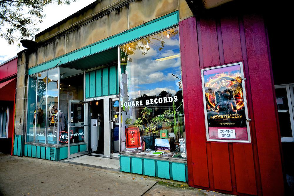 Exterior of Square Records.