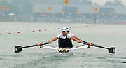 FISA World Cup Rowing Munich Germany..27/05/2004..Thursday morning opening heats...NZL W2X.Stroke Caroline Evers-Swindell and Georgina Evers-Swindell. [Mandatory Credit: Peter Spurrier: Intersport Images].
