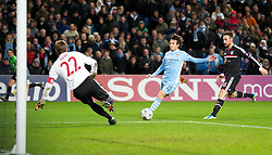 07.12.2011, City of Manchester Stadion, Manchester, ENG, UEFA CL, Gruppe A, Manchester City (ENG) vs FC Bayern München (GER), im Bild Manchester City's David Silva in action against FC Bayern Munchen's goalkeeper and captain Jorg Butt during the football match of UEFA Champions league, group A, between Manchester City (ENG) and FC Bayern München (GER), at City of Manchester Stadium, Manchester, United Kingdom on 07/12/2011. EXPA Pictures © 2011, PhotoCredit: EXPA/ Propaganda/ David Rawcliff..***** ATTENTION - OUT OF ENG, GBR, UK *****