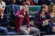 DESCRIZIONE : Beko Legabasket Serie A 2015- 2016 Dinamo Banco di Sardegna Sassari - Obiettivo Lavoro Virtus Bologna<br /> GIOCATORE : Marco Spissu<br /> CATEGORIA : Tifosi Pubblico Spettatori VIP<br /> SQUADRA : Dinamo Banco di Sardegna Sassari<br /> EVENTO : Beko Legabasket Serie A 2015-2016<br /> GARA : Dinamo Banco di Sardegna Sassari - Obiettivo Lavoro Virtus Bologna<br /> DATA : 06/03/2016<br /> SPORT : Pallacanestro <br /> AUTORE : Agenzia Ciamillo-Castoria/L.Canu