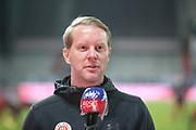 Fussball: 2. Bundesliga, FC St. Pauli - Hamburger SV, Hamburg, 01.03.2021<br /> St-Pauli-Trainer Timo Schultz<br /> © Torsten Helmke