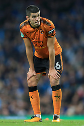 24th October 2017 - Carabao Cup (4th Round) - Manchester City v Wolverhampton Wanderers - Conor Coady of Wolves - Photo: Simon Stacpoole / Offside.