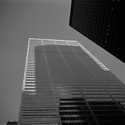 Looking up to Commerce Court from the corner of King Street West and Bay Street in Toronto's Financial District..(Credit Image: © Louie Palu/ZUMA Press)