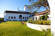 The Historical Hacienda Hotel inside Fort Hunter Liggett, Jolon, CA