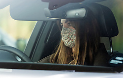© Licensed to London News Pictures. 08/03/2021. London, UK. CATHERINE, DUCHESS OF CAMBRIDGE is seen driving near her home in London, following the release of an interview with Prince Harry, Duke of Sussex and his wife Meghan, Duchess of Sussex. The two hour event, hosted by Oprah Winfrey, aired in the early hours of the morning in the UK. Photo credit: Ben Cawthra/LNP
