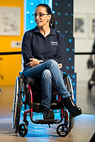 "Paralympic Swimmer Teresa Perales during the presentation of the new Javier Fesser short film ""Servicio Tecnico"",in Madrid, March 15, 2016<br /> (ALTERPHOTOS/BorjaB.Hojas)"