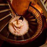 Misa Kuranaga for Boston Ballet at the Old State House, Boston MA