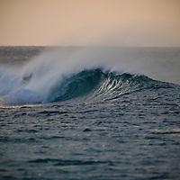 Tuamotu Islands, French Polynesia, trip on board Cascade, surf