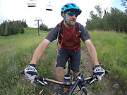 SHOT 8/5/17 12:58:05 PM - GoPro Hero 5 photos while riding Brian Head Resort in Brian Head, Utah with Vesta Lingvyte of Denver, Co. (Photo by Marc Piscotty / © 2017)