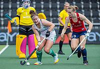 AMSTELVEEN -  tijdens de wedstrijd dames , Ierland-Engeland (1-5) bij het  EK hockey , Eurohockey 2021.COPYRIGHT KOEN SUYK