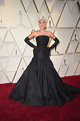 Lady Gaga walking the red carpet as arriving to the 91st Academy Awards (Oscars) held at the Dolby Theatre in Hollywood, Los Angeles, CA, USA, February 24, 2019. Photo by Lionel Hahn/ABACAPRESS.COM