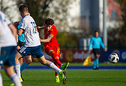 CARDIFF, WALES - Saturday, November 16, 2019: Wales' Neco Williams during the UEFA Under-19 Championship Qualifying Group 5 match between Russia and Wales at the Cardiff International Sports Stadium. (Pic by Mark Hawkins/Propaganda)