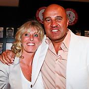 NLD/Amsterdam/20110528 - Toppers in Concert 2011, John van den Heuvel en partner Mariette van Schie