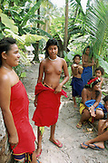 Ifalik Island, Yap, Caroline Islands, Federated States of Micronesia, Micronesia, (editorial use only- no model release)<br />