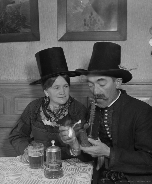 Mr. and Mrs. Windhofer, St. Johann, Austria, 1938