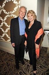 NICKOLAS GRACE and ELAINE PAIGE at the Tatler Restaurant Awards, at the Langham Hotel, Portland Place, London n 10th May 2010.