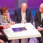 NLD/Amsterdam/20151123 - 5 jaar Delamar theater en 10 Jaar Van den Ende Foundation viering, Cornald Maas, Janine Klijburg en Joop van den Ende en ............