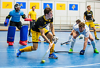 AMSTERDAM -  Jasper Tukkers (Den Bosch)    Zaalhockey hoofdklasse, Den Bosch H1-Kampng H1.COPYRIGHT KOEN SUYK