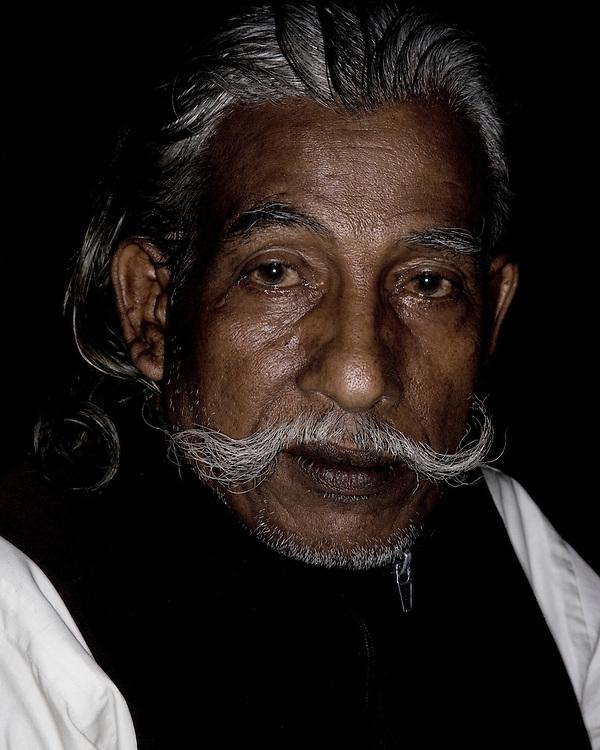 Portrait of an Indian Senior Citizen