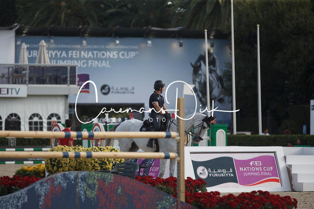 Schroder Gerco, (NED), Glocks Cognac Champblanc<br /> Furusiyya FEI Nations Cup Jumping Final - Barcelona 2015<br /> © Dirk Caremans<br /> 23/09/15