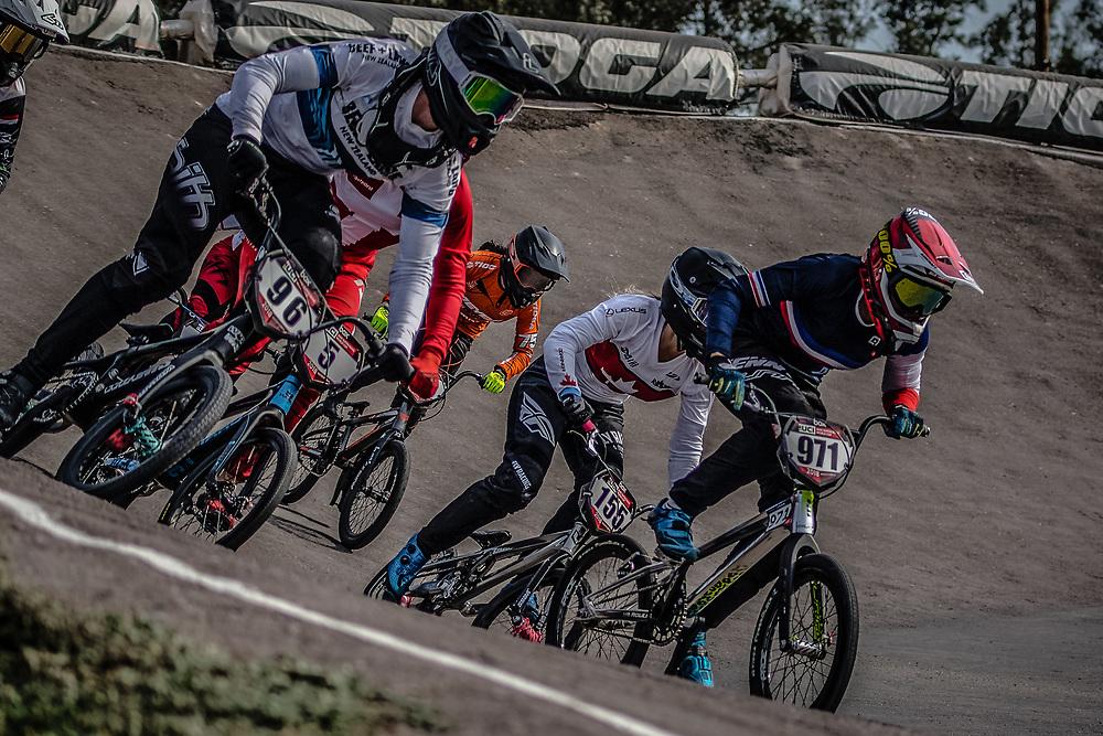 2018 UCI BMX Supercross<br /> Round 7 Santiago Del Estero (Argentina)<br /> 1/2 Finals<br /> #5 (CHRISTENSEN Simone Tetsche) DEN<br /> #911 (SHRIEVER Bethany) GBR<br /> #96 (WALKER Sarah) NZL<br /> #155 (MECHIELSEN Drew) CAN<br /> #85 (HATAKEYAMA Sae) JPN<br /> #75 (VAN BENTHEM Merle) NED<br /> #2 (SMULDERS Merel) NED