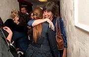 Press night for Ruby Wax- Losing it. Duchess theatre. London. 1 September 2011. <br /> <br />  , -DO NOT ARCHIVE-© Copyright Photograph by Dafydd Jones. 248 Clapham Rd. London SW9 0PZ. Tel 0207 820 0771. www.dafjones.com.