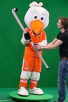 DEN BOSCH - Stockey in studio bij SAP , voor nieuw platform. . Nederlands Hockeyteam  voor nieuwe platform Hockey.nl.    FOTO KOEN SUYK