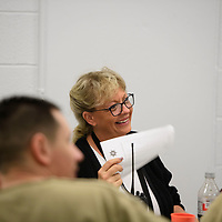 Erika Hayes, Treatment Program Manager of the 28-day program at the McKinley County Adult Detention Center, Thursday, August 16, 2018.