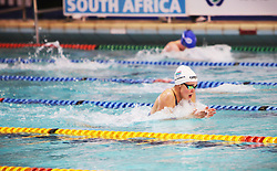 11082018 (Durban) Top Swimmer Erin P. Gallagher competing in Woman 100 meters medley heat 13 during the coastal city of Durban play host to the 2018 SA National Swimming Championships (25m), with the action set to start from 9th to 12th August at the Kings Park Aquatics Centre.Picture: Motshwari Mofokeng/African News Agency (ANA)