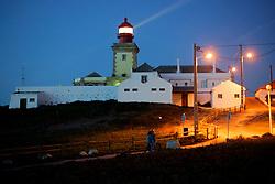 PORTUGAL CABO DA ROCA 7OCT06 - Lighthouse at Cabo da Roca, Europe's most westerly point after sunset...jre/Photo by Jiri Rezac..© Jiri Rezac 2006..Contact: +44 (0) 7050 110 417.Mobile:  +44 (0) 7801 337 683.Office:  +44 (0) 20 8968 9635..Email:   jiri@jirirezac.com.Web:    www.jirirezac.com..© All images Jiri Rezac 2006 - All rights reserved.