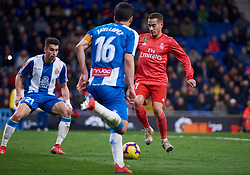 January 27, 2019 - Barcelona, U.S. - BARCELONA, SPAIN - JANUARY 27: Lucas Vazquez, forward of Real Madrid in action of attack his goal during the La Liga match between RCD Espanyol and Real Madrid CF at RCDE Stadium on January 27, 2019 in Barcelona, Spain. (Photo by Carlos Sanchez Martinez/Icon Sportswire) (Credit Image: © Carlos Sanchez Martinez/Icon SMI via ZUMA Press)