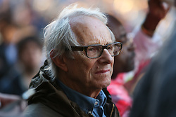 © Licensed to London News Pictures. 19/08/2016. Sheffield, UK. Film director Ken Loach at a Jeremy Corbyn campaign rally in Sheffield, South Yorkshire, during the 2016 Labour leadership election. Photo credit : Ian Hinchliffe/LNP