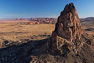 El Capitain, Kayenta, Arizona, Monument Valley in background